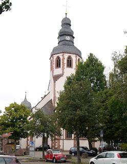 Bild 1: Martinskirche Ettlingen Ostseite
