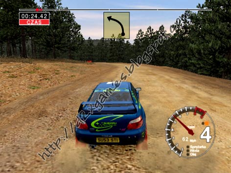 Free Download Games - Colin McRae Rally 04
