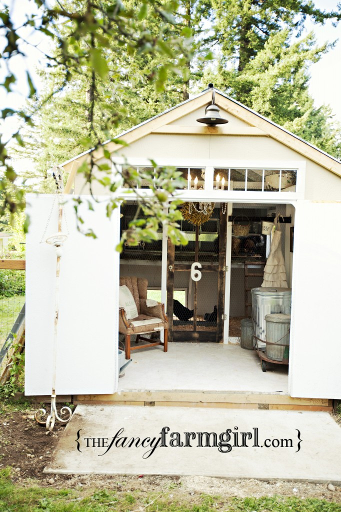 Fancy Backyard Chicken Coops : Design Bucket List #4  Backyard Chickens! ~ Fleur De List Home Decor