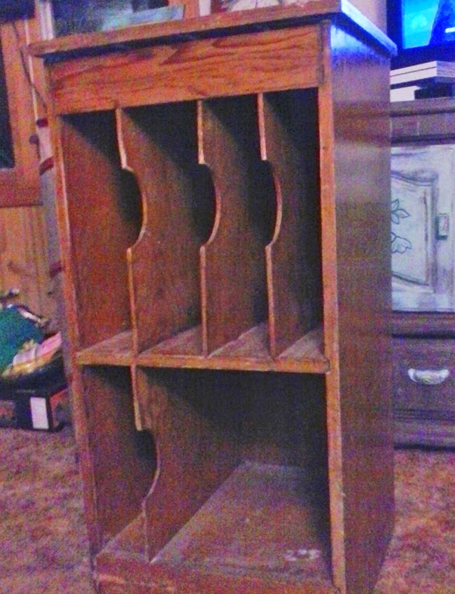 Record Cabinet Makeover from Denise on a Whim