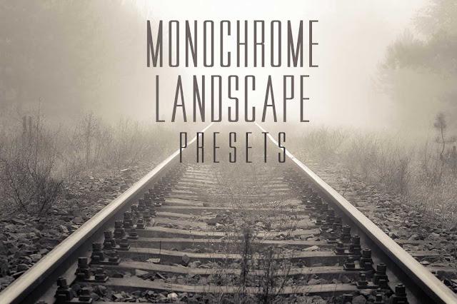 Monochrome Landscape Lightroom Presets