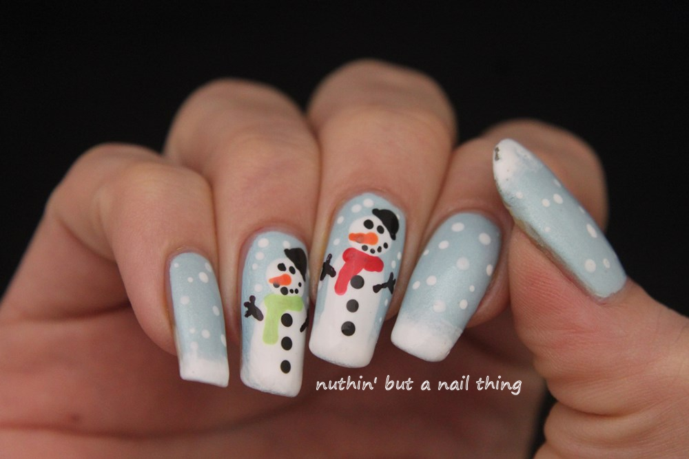 nuthin\' but a nail thing: 40 Great Nail Art Ideas - Winter