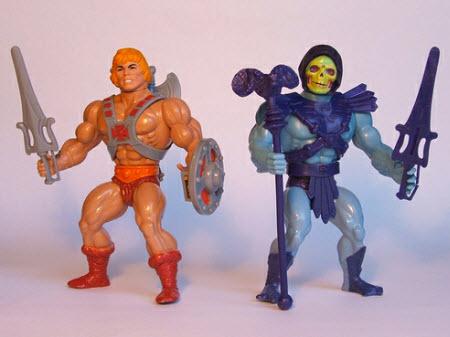 Los viejos y queridos muñecos de He-Man
