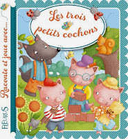 Les 3 petits cochons- Fleurus