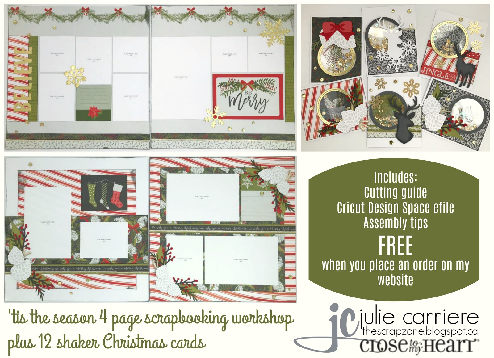 Tis the Season Cardmaking/Scrapbooking Assembly Guide