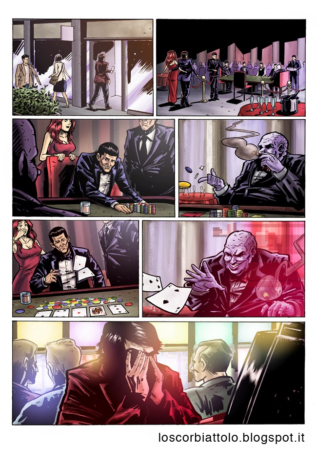 all in pazzi per il fumetto vincitore 2014 colore digitale mirko treccani pagina 3