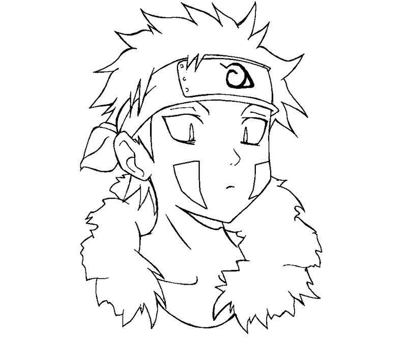 kiba coloring pages - photo#1