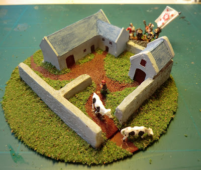 Terrain, 6mm, 10mm, diy, cheap, cd, farm,