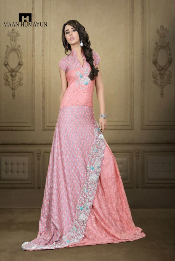 mh latest semi formal dresses for ladies gents y - MH New Semi Formal Wear Dresses Collection 2013 for Men and Women