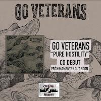 GO VETERANS – PURE HOSTILITY – CD Próximamente / Out soon