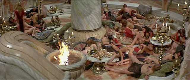 Ancient rome orgy