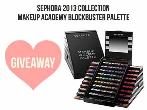 ... Diary : [GIVEAWAY] Sephora Makeup Academy Blockbuster Palette