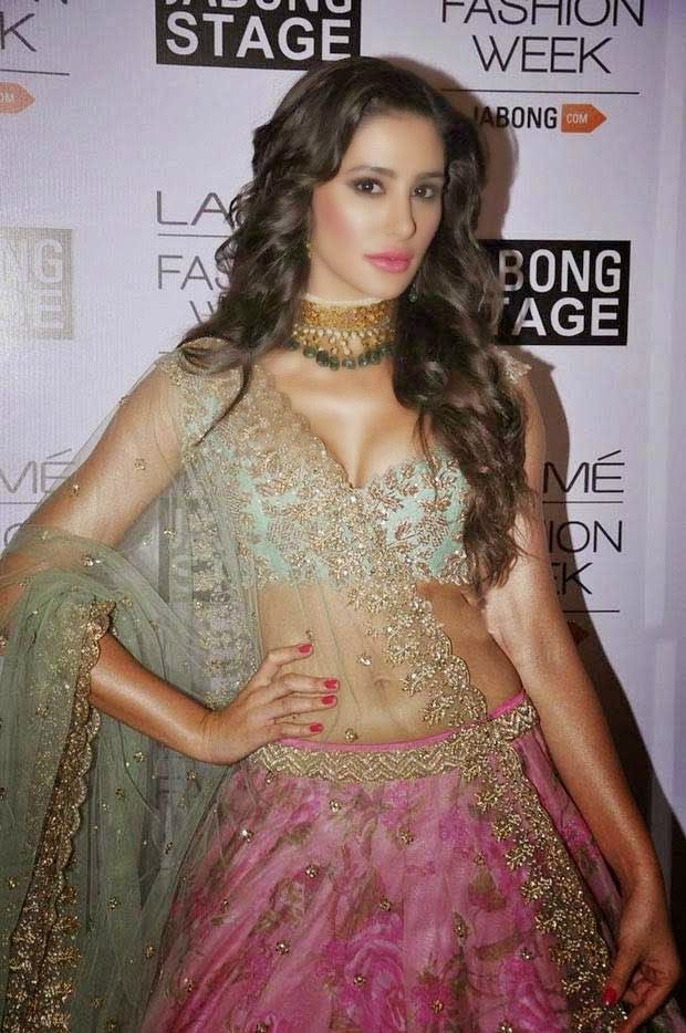 Nargis Fakhri At Lakme Fashion Week Winter/Festive 2014