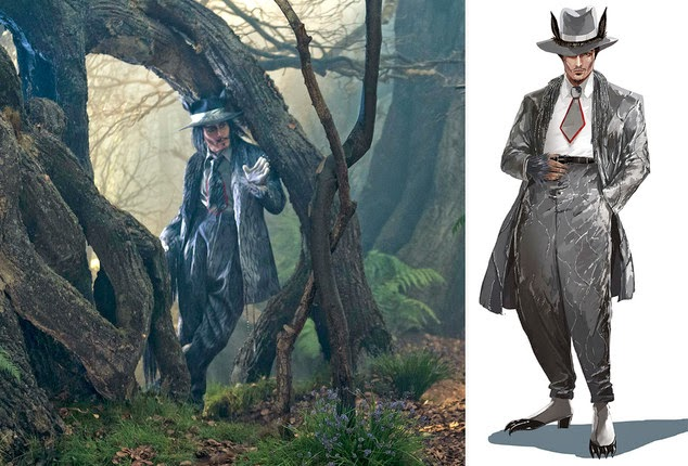 johnny depp the wolf into the woods wallpapers - Into The Woods Johnny Depp As The Wolf HD desktop