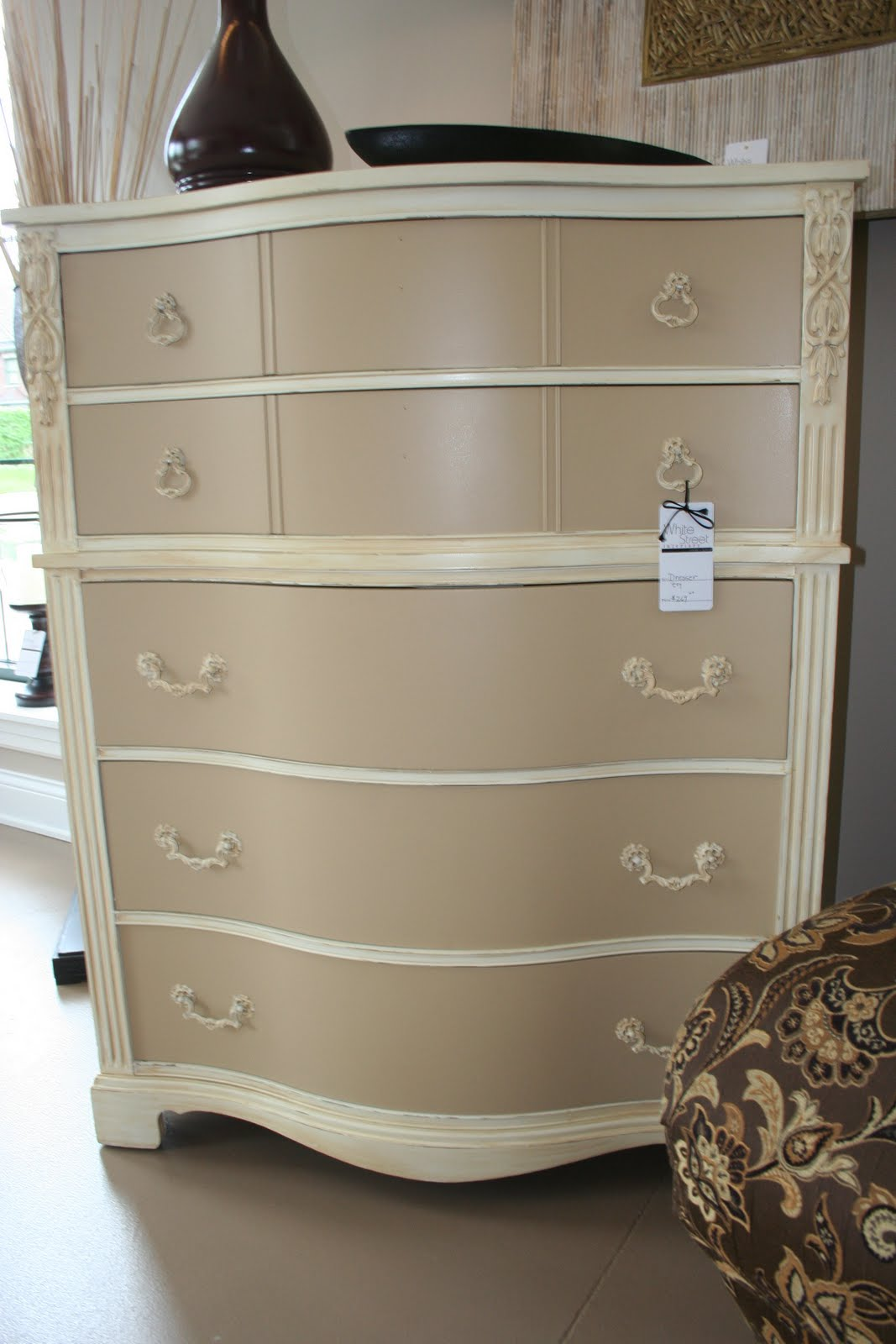 Two Tone Painted Dresser Ideas