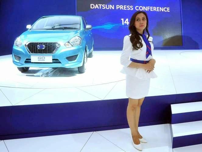 SPG Datsun GO Panca IIMS 2014