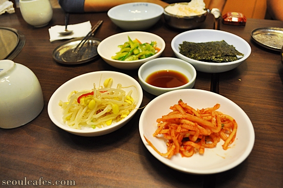 kimchi jjigae seoul restaurant korea