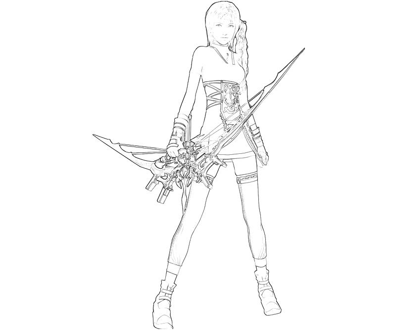 final fantasy character coloring pages - photo#20