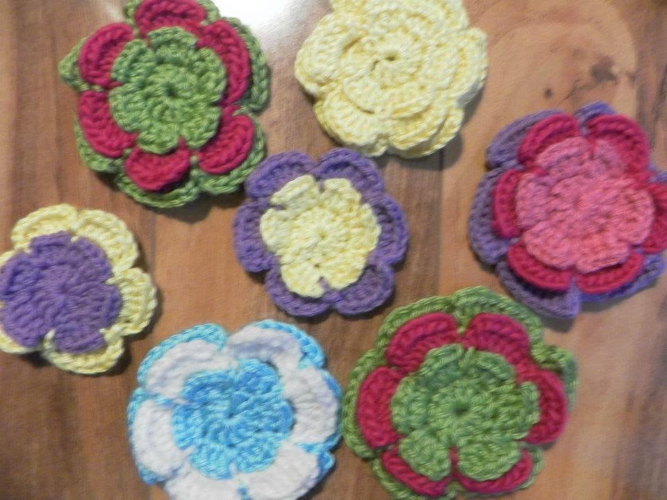 Crocheted Hair Accessories