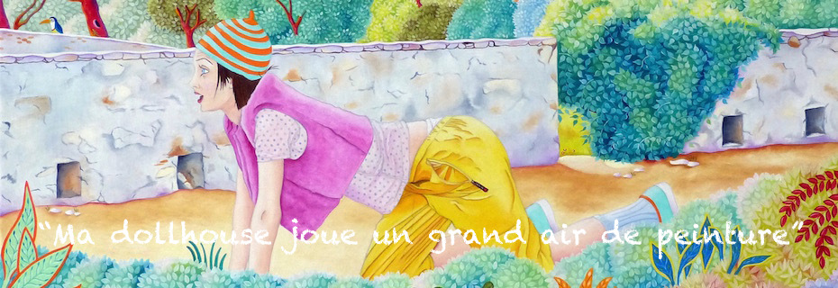"""Ma dollhouse joue un grand air de peinture"""