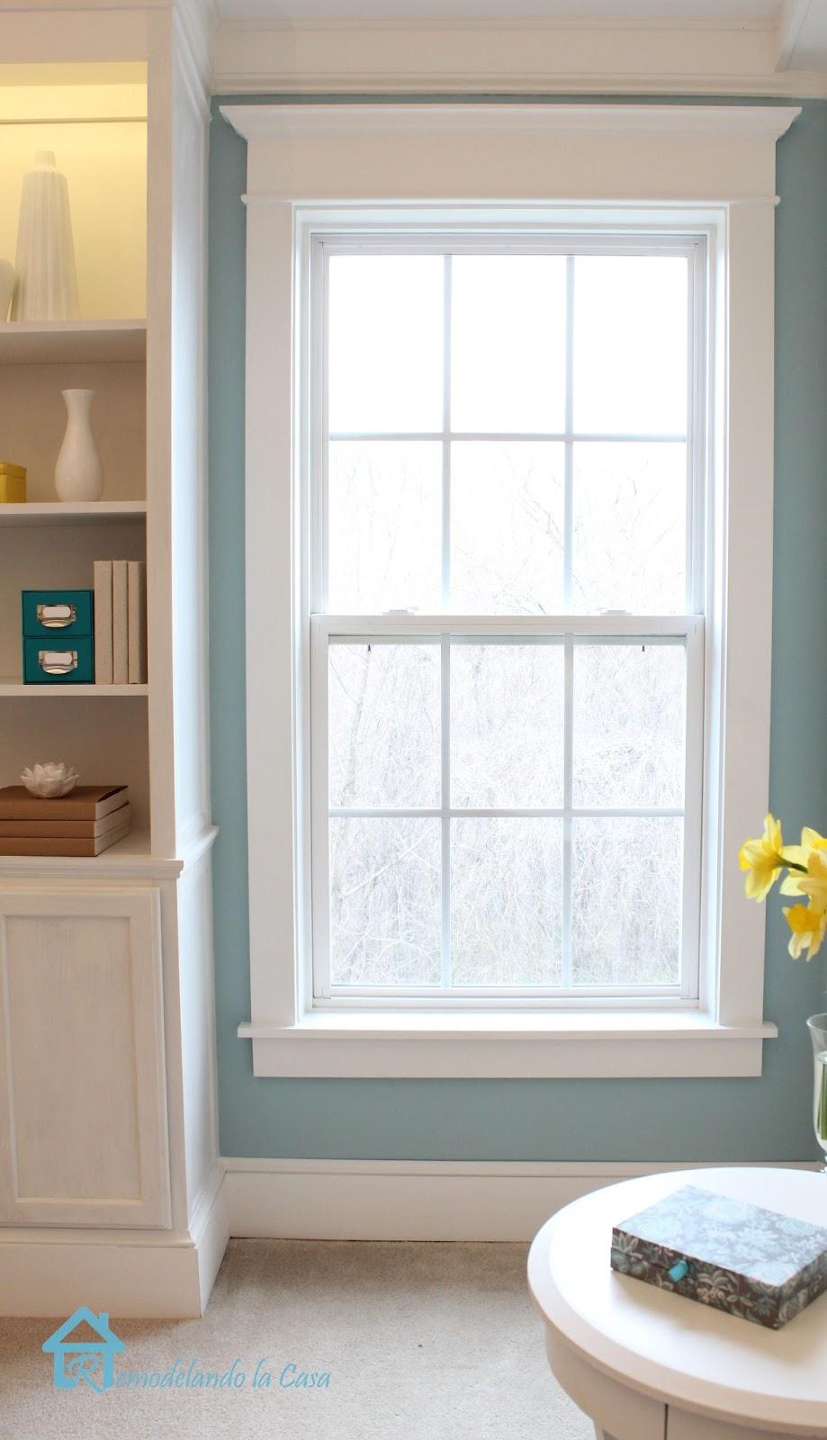 How to install window trim remodelando la casa - How to replace exterior window trim ...