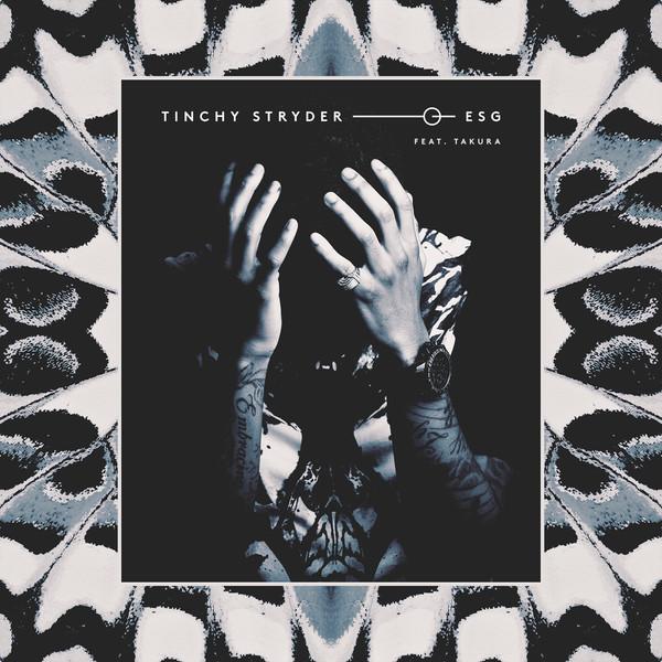 Tinchy Stryder - ESG (feat. Takura) - Single Cover
