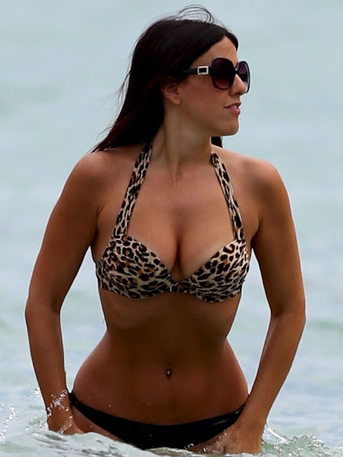 Claudia Romani in Swimsuit
