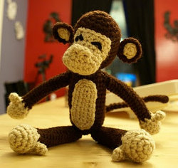 EASY: Free Crochet Pattern - Monkey Hat - blogspot.com