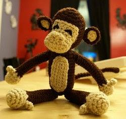 Free Patterns Crochet Monkeys : 2000 Free Amigurumi Patterns: A Monkey For My Monkey: free ...