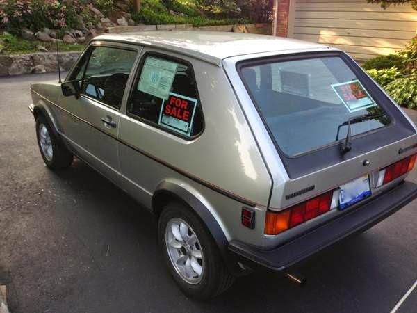 1984 volkswagen rabbit gti - buy classic volks