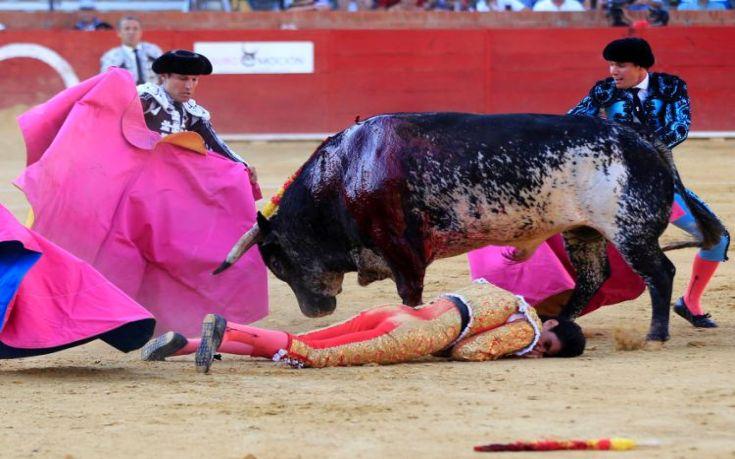 ΣΚΛΗΡΕΣ ΕΙΚΟΝΕΣ! Σκοτώθηκε σε ζωντανή μετάδοση ταυρομάχος στην Ισπανία! (ΒΙΝΤΕΟ)