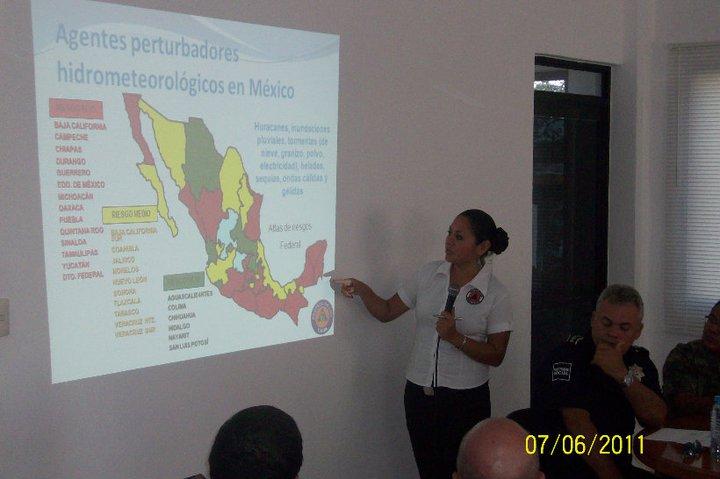 Jacqueline Martínez Barrios, Directora de Protección Civil en Tulum