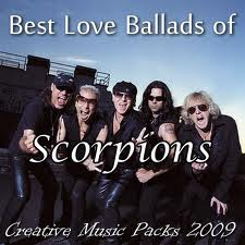 Best Love Ballads of Scorpions CD Capa