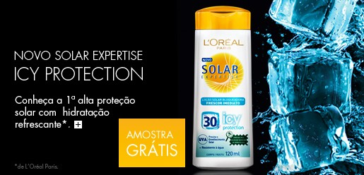 Amostra Gratis Protetor Solar Expertise Icy Protection