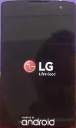 Hard Reset LG AKA Using Hardware Keys