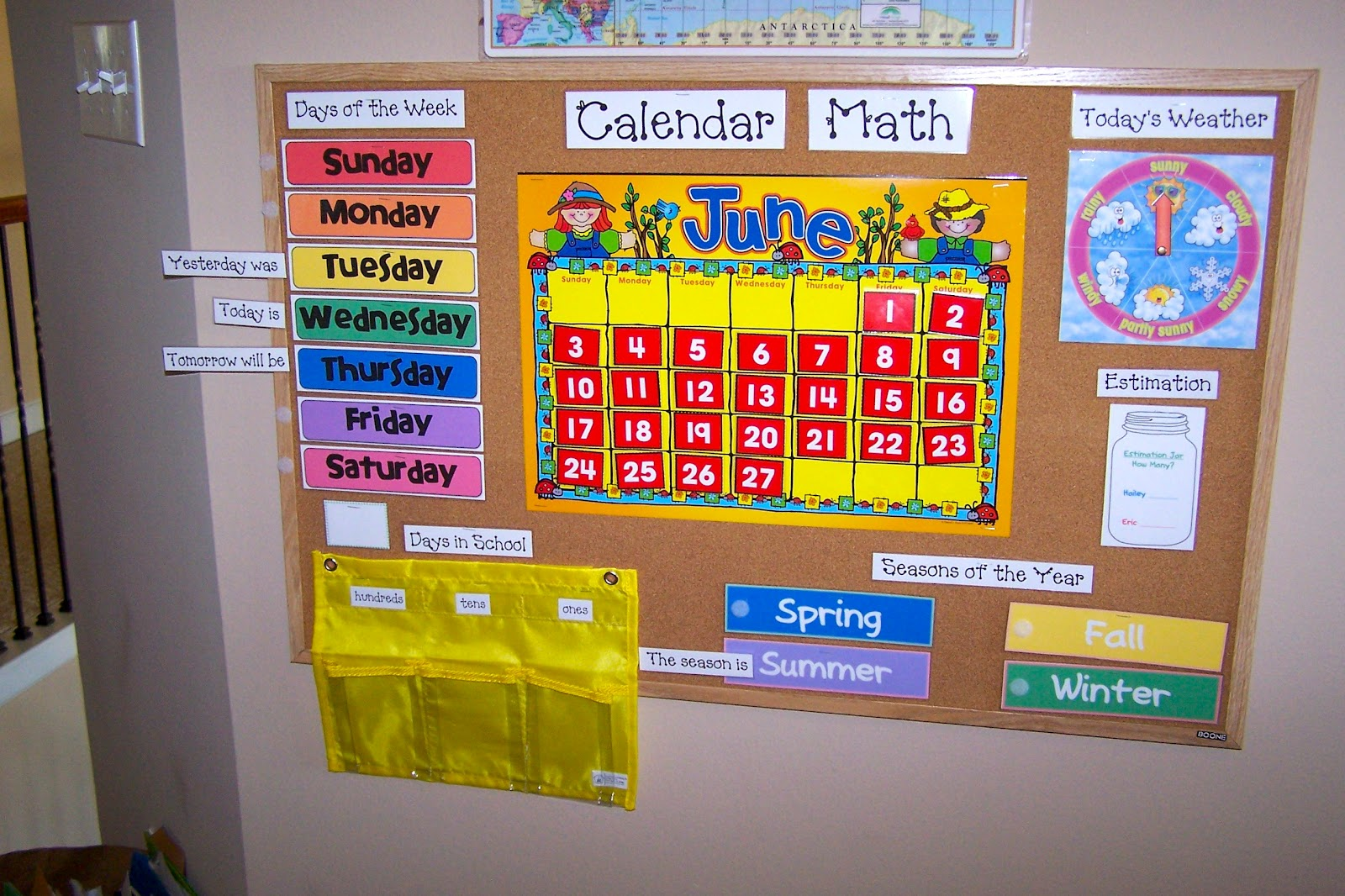 Classroom Calendar Bulletin Board Ideas