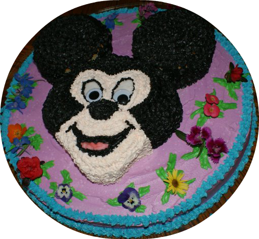 Mickey Mouse Birthday Cake for a Mickey Mouse themed birthday party!