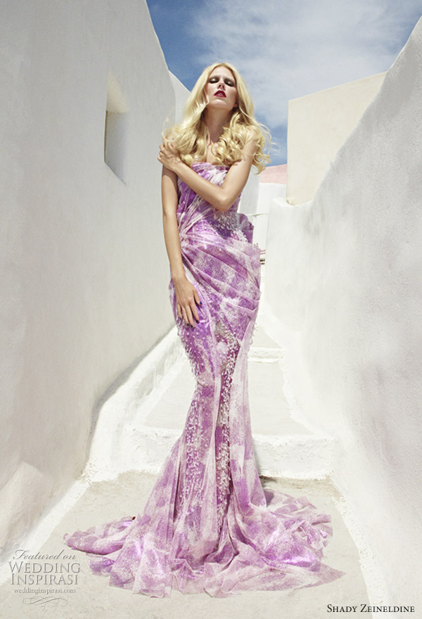 Purple Wedding Dresses For  : Wedding addict purple and white dresses