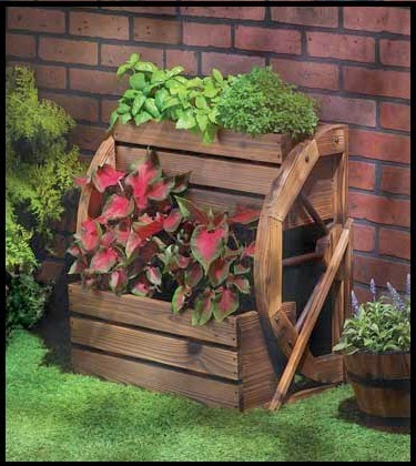 Outdoor Rustic Planter