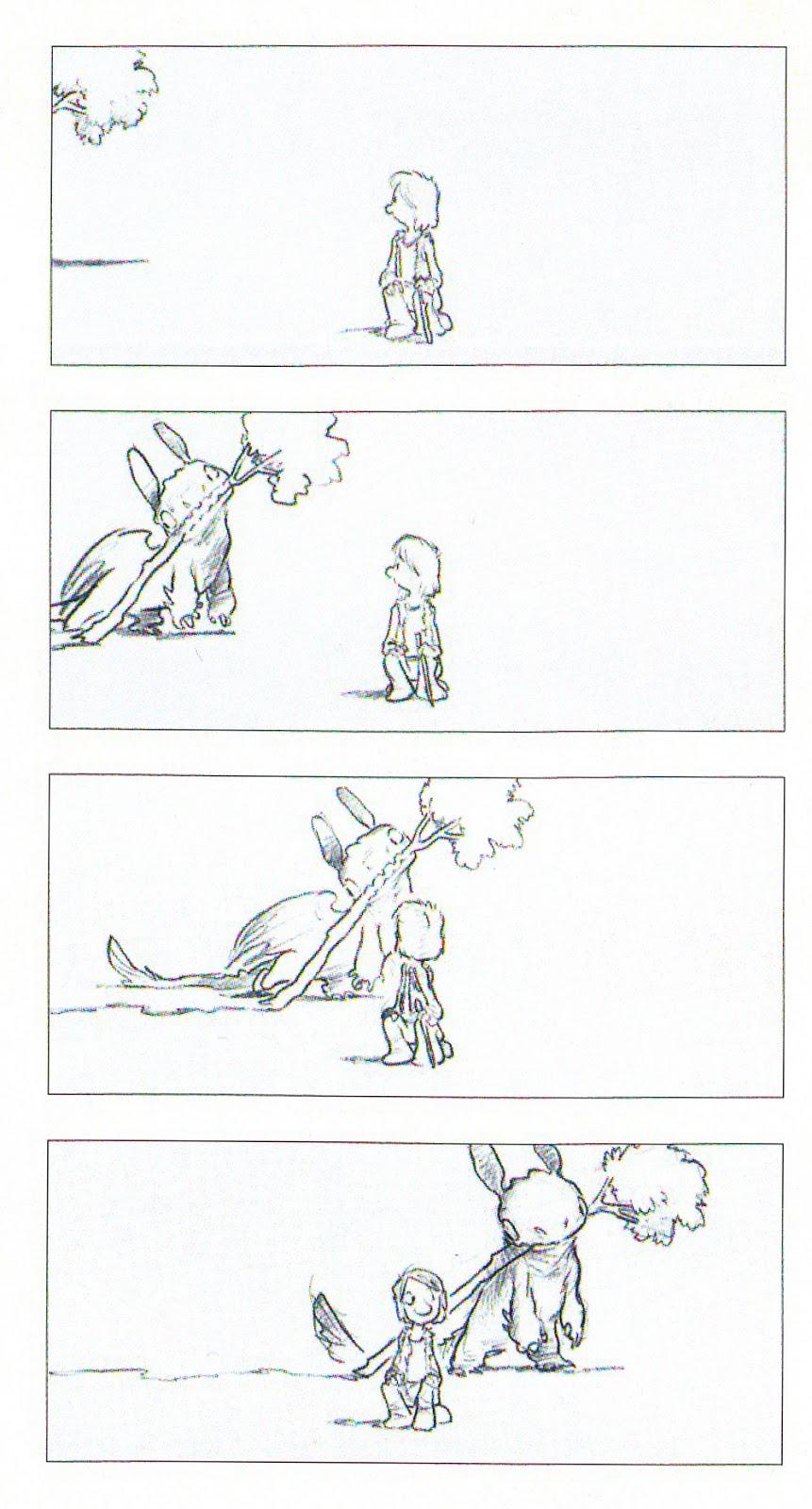 cartoon concept design  chris sanders