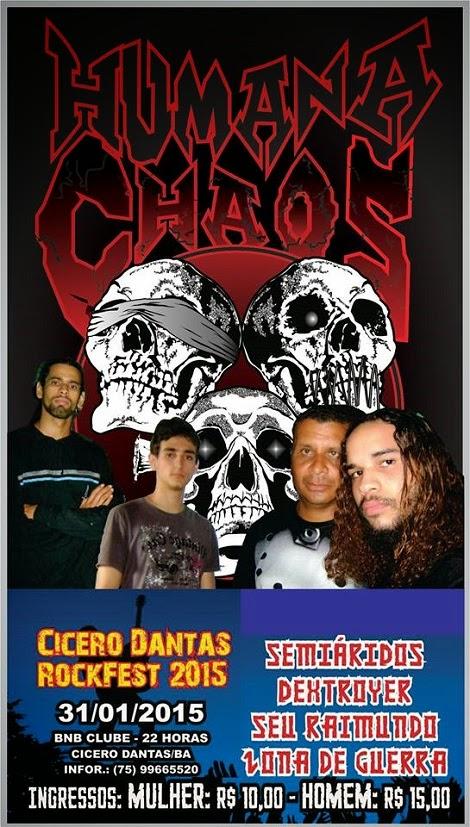 31-01-2015 - CÍCERO DANTS ROCKFEST 2015 - Cícero Dantas - BA