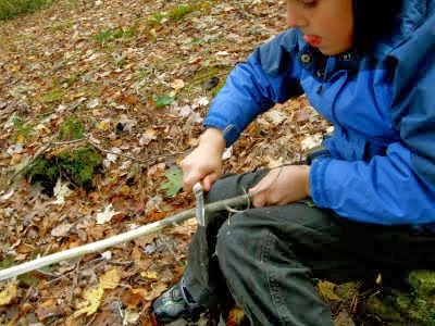Whittling with Boys and Girls