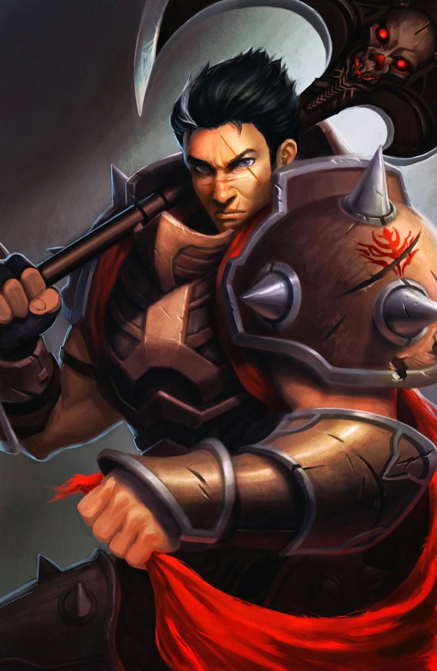 Darius League Of Legends Wallpaper Darius Desktop Wallpaper