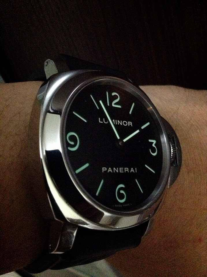 Bnib panerai pam 317 luminor 1950 8 days monopulsante ceramic 44mm triple boxed and complete limited to 500 pieces