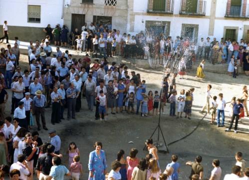 Llegada del agua corriente en 1980 a Parrillas. Toledo