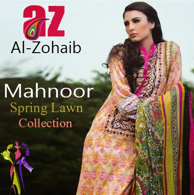 Mahnoor Spring Lawn Collection 2015 Full Catalog