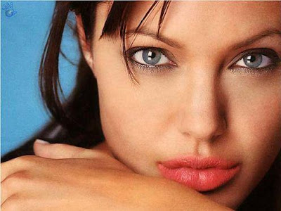 Angelina Jolie her red big lips