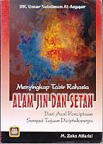 toko buku rahma: buku menyikap tabir rahasia alam jin dan setan, pengarang dr. umar sulaiman al-asyqar, penerbit pustaka setia