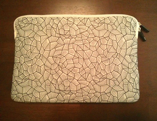 laptop case featuring my earth pattern