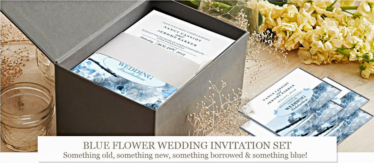 Blue Flower Wedding Editon